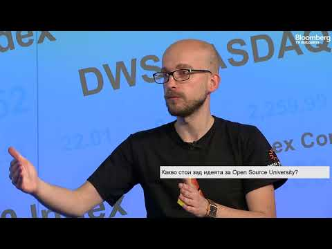 Open Source University EDU Token Crowdsale Interview [English subtitles]