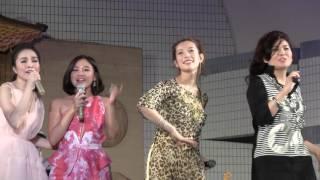 Vietnam Festival 2015 2日目14日のエンディングでのフォンチーです htt...
