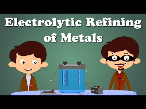 Electrolytic Refining Of Metals | #aumsum