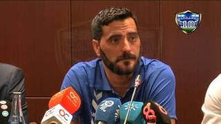 Presentación de Dani Güiza en el Cádiz CF (01-08-15)