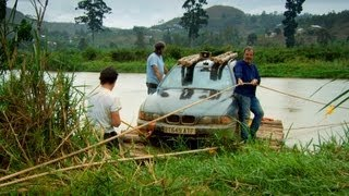 The Makeshift Car Ferry - Top Gear - Africa Special: Part 2 - BBC Two