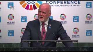 H.E Peter Thomson - President of the UN General Assembly speech - Oceans Conference 2017 New York