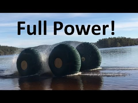Inflatable Car Episode 10 Full Throttle Test! DIY Sherp