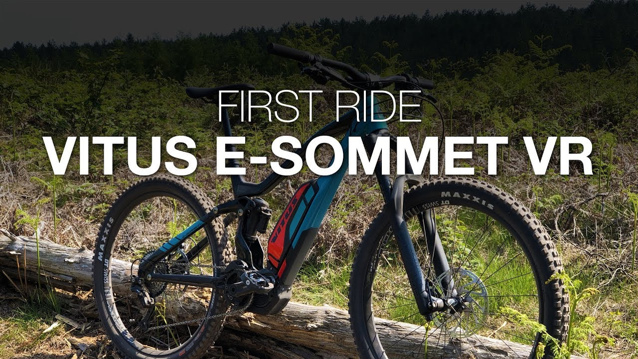 e26c3af4714 VITUS E-SOMMET VR 2018 First Ride - YouTube