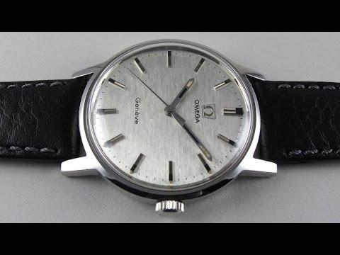 Steel Omega Genève Ref. 135.070 vintage wristwatch, circa 1969