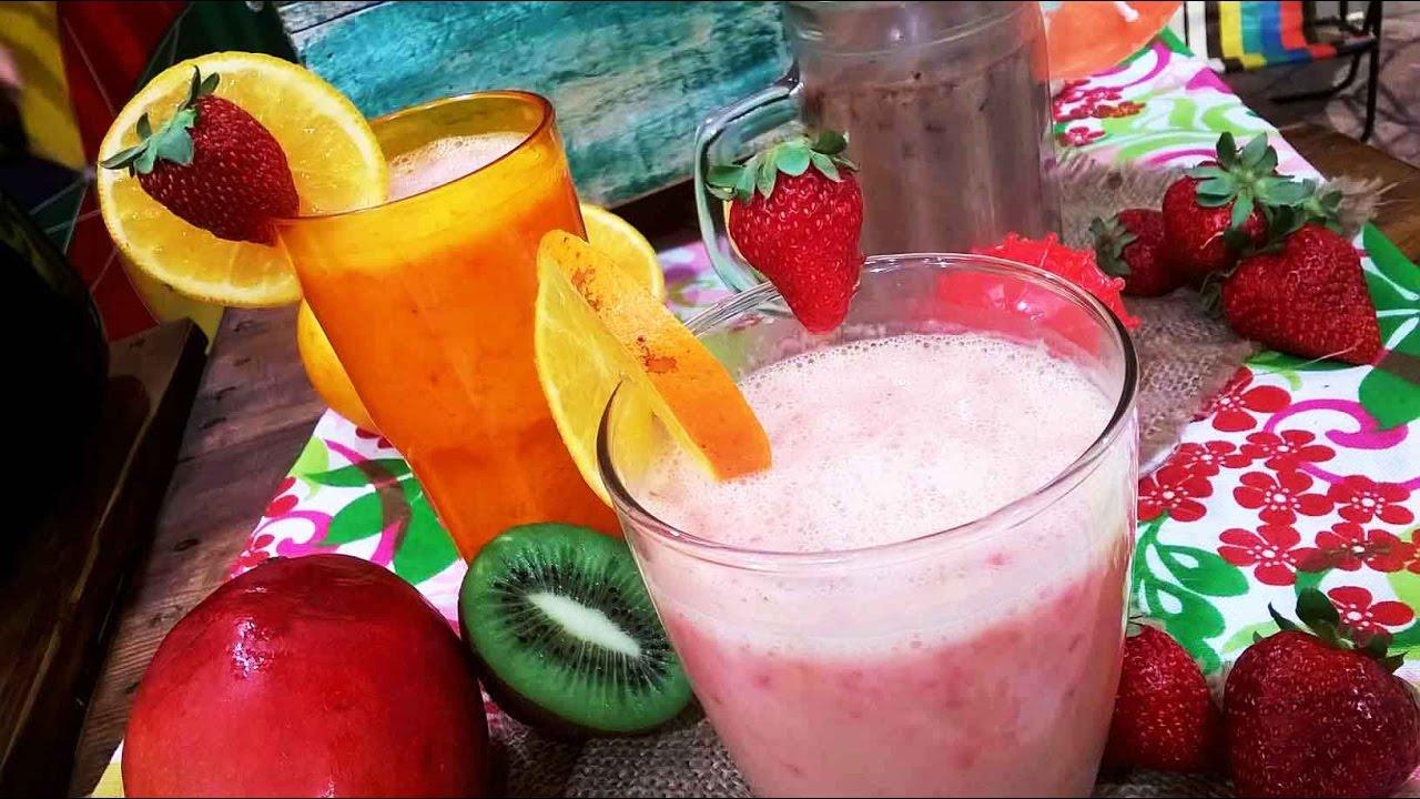 Batido de frutilla receta
