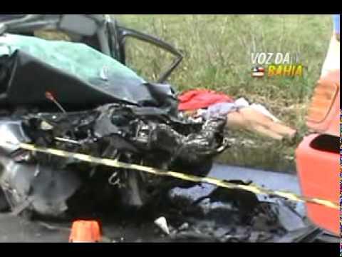Acidente com duas vítimas fatais na BR-101, Km 267