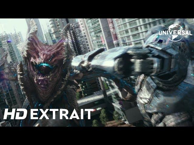 "Pacific Rim Uprising / Extrait 4 ""Kaijus vs Jaegers"" VF [Au cinéma le 21 Mars]"