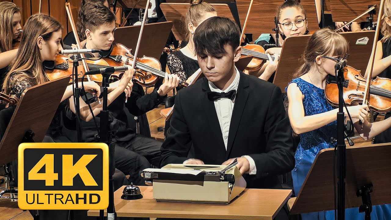 Leroy Anderson – The Typewriter, conducted by Andrzej Kucybała