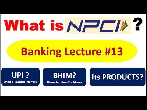 What is NPCI ? | देखे BHIM और के बारे में  || Banking Lecture #13