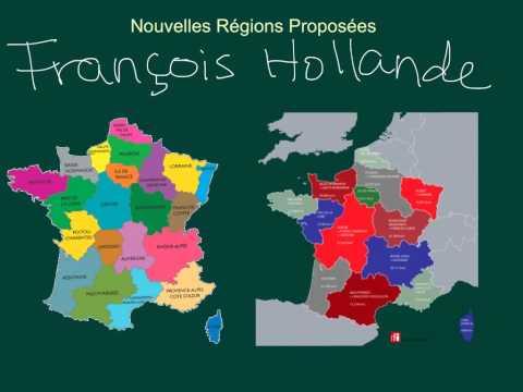 La France - Régions Et Départements