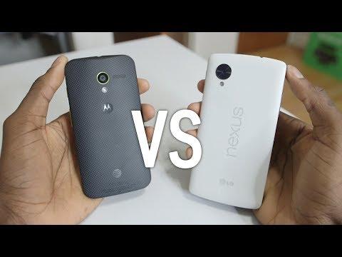 Google Nexus 5 vs Moto X! ($350)