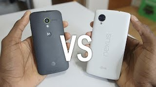 Google Nexus 5 vs Moto X! ($350)