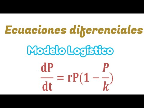 Ecuaciones Diferenciales [Modelo Logístico]