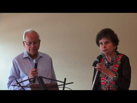 Indu Chhabra & Amejijy Singing Duet Karaoke song at ICC Senior Monthly Prog. on 08/09/2017  M2U04492