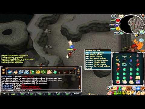 Runescape - EoC TDs Dragon limbs drop + Flying goblin hat! (lolsof)