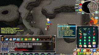 Runescape - EoC TDs Dragon limbs drop + Flying goblin hat! (lolsof)