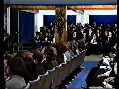 Trinity College, Carmarthen Graduation Ceremony 1993