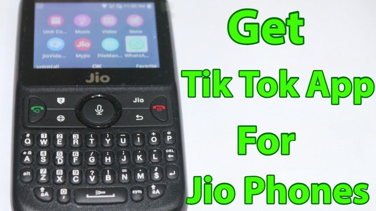 tik tok app kaise download karte hai jio mobile mein
