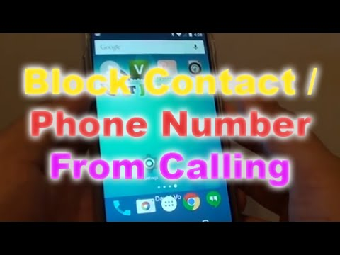 google nexus 5 how to block a phone number from calling your youtube. Black Bedroom Furniture Sets. Home Design Ideas