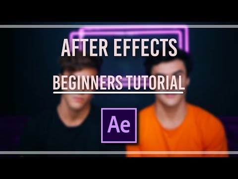 AFTER EFFECTS BEGINNERS TUTORIAL | ae basics, simple transitions + tips