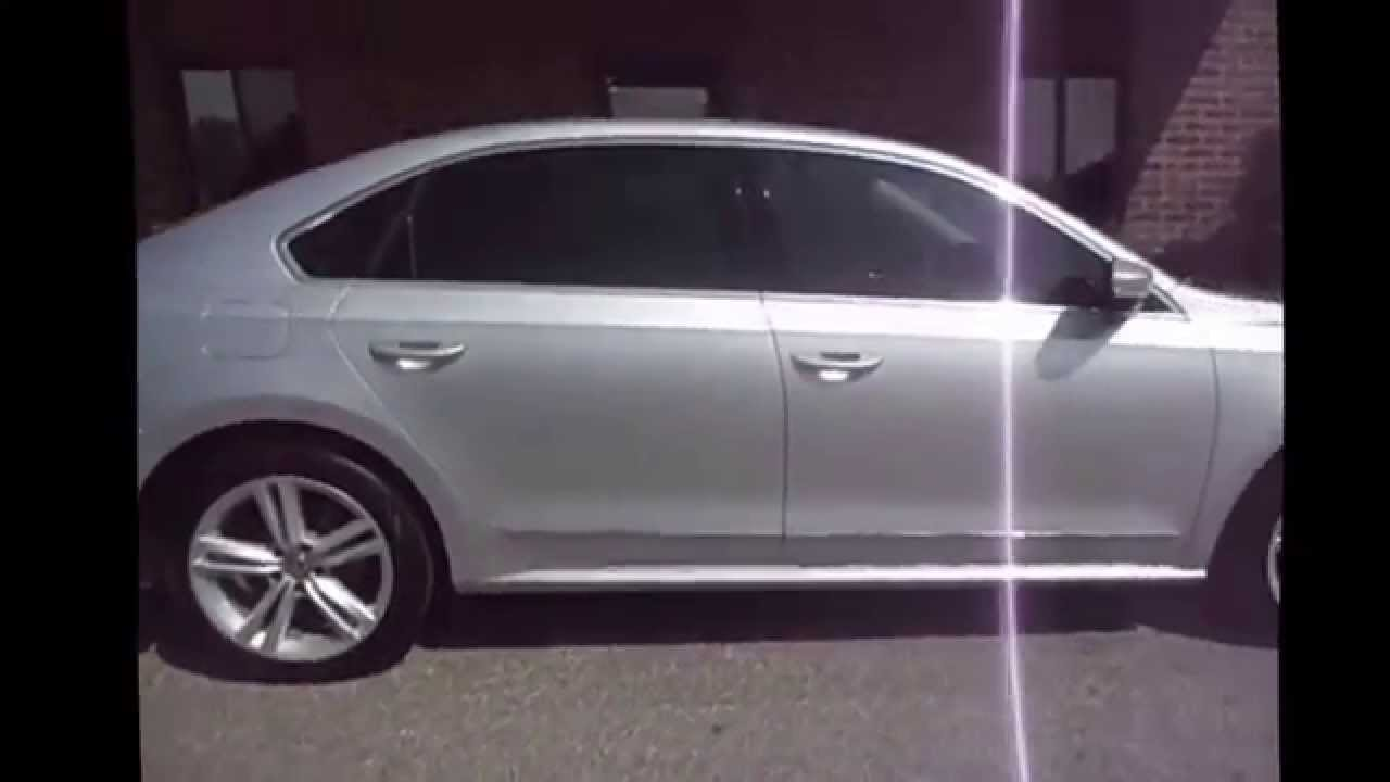 2014 Vw Passat 35 3m Window Tint On All Side And Rear