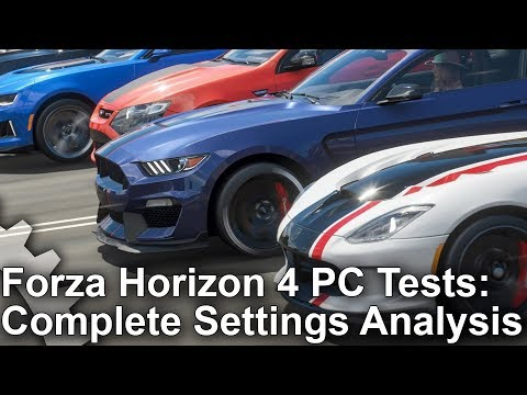forza-horizon-4-pc-analysis:-complete-settings-guide-+-xbox-one-x-comparisons!