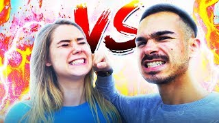 MY GIRLFRIEND IS BETTER THAN ME !! Fortnite Battle Royale