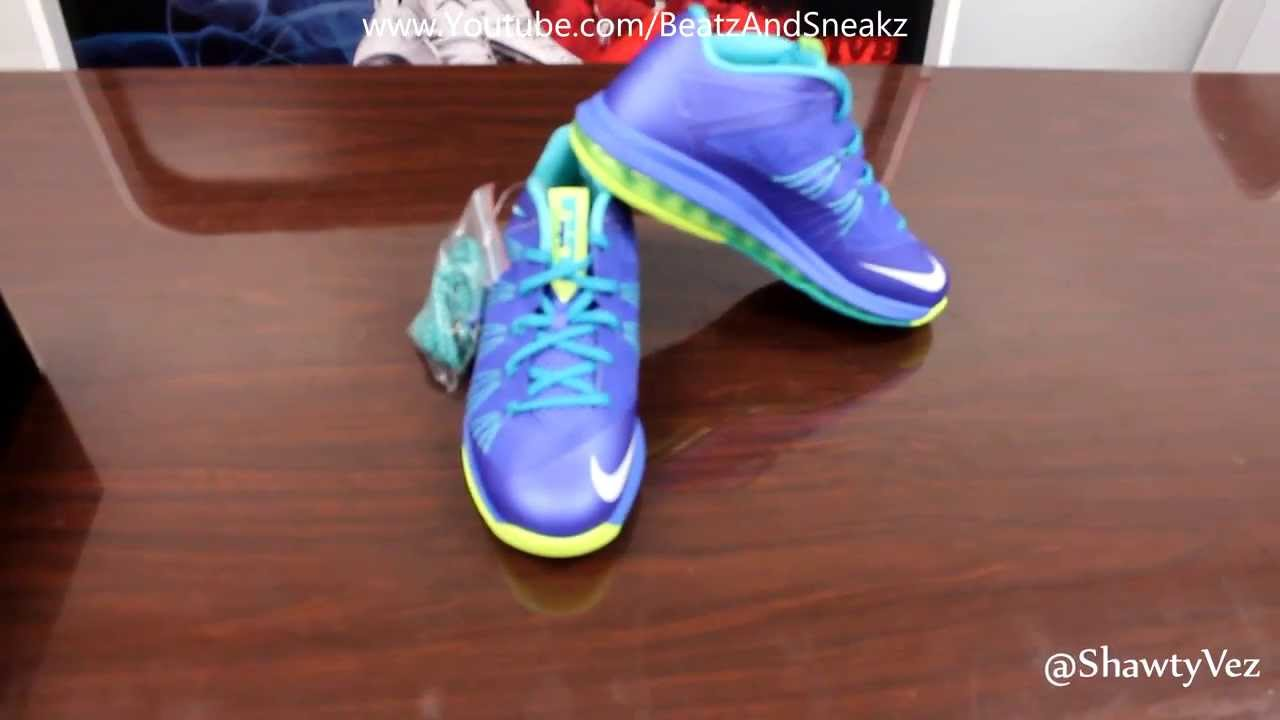 Nike LeBron 10 X Sprite