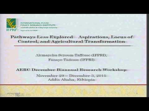 AERC Biannual Research Workshop