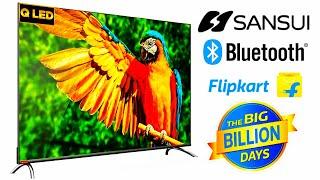 Sansui 55inch Ultra HD 4K QLED Smart TV JSC55LSQLED - Sansui Qled tv with big screen at best price