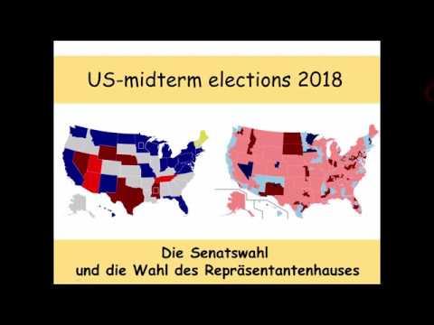 US-midterm-elections 2018: aktueller Trend zur Wahl der Senatoren und des Repräsentantenhauses