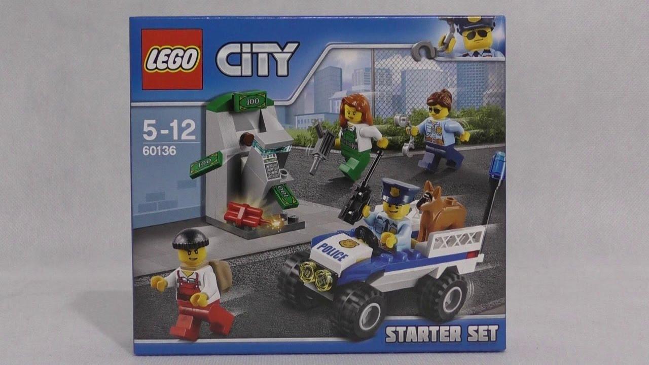 Lego City 60136 Policja Zestaw Startowy Youtube