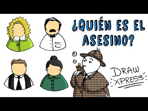 ¿QUIÉN ES EL ASESINO? | Draw My Life Acertijos Imposibles CAP 2