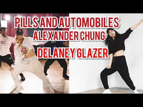 CHRIS BROWN- PILLS AND AUTOMOBILES (Alexander Chung choreography) Dance cover