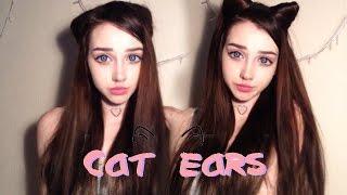 Cat Ears Hairstyle \ Прическа Кошачьи Ушки \ 2 варианта \ lucyfear