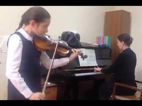 урок знакомства со скрипкой