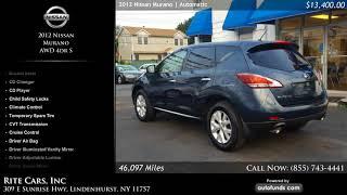 Used 2012 Nissan Murano | Rite Cars, Inc, Lindenhurst, NY