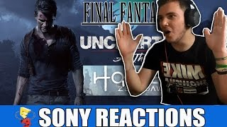 MY REACTIONS to UNCHARTED 4 , THE LAST GUARDIAN - Sony Conf. E3 2015 REACTIONS [ITA HD]