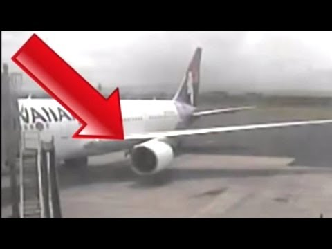 "Airplane Stowaway ""De-boards"" Plane's Wheel Well"