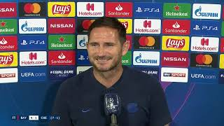 UEFA Champions League | Frank Lampard | Interview