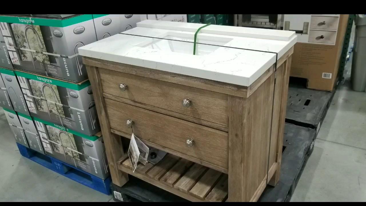 36 Rustic Bathroom Vanity Costco