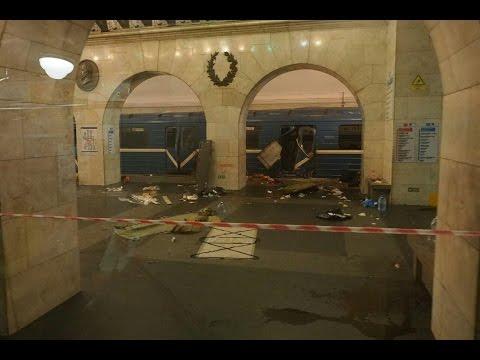 Взрыв в петербургском метро: рассказ с места трагедии