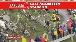 Last kilometer - Stage 20 - La Vuelta 2017