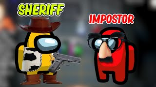 Amazing New SHERIFF MOD in Among Us