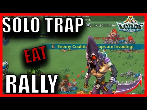 MY SOLO TRAP VS THE WORLD - Lords Mobile