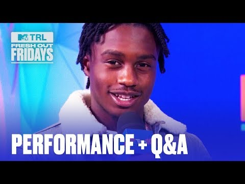 """Lil Tjay Performs """"Leaked"""" + EXCLUSIVE Interview   #MTVFreshOut"""