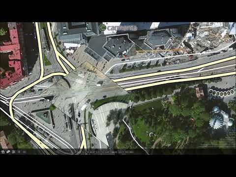 Carmenta Georeferenced Full-Motion Video