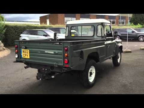 land rover defender 110 lwb diesel 2012my 2 2 td4 hi capacity pick up u11076 youtube. Black Bedroom Furniture Sets. Home Design Ideas