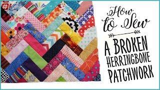 Como costurar um Patchwork de tiras